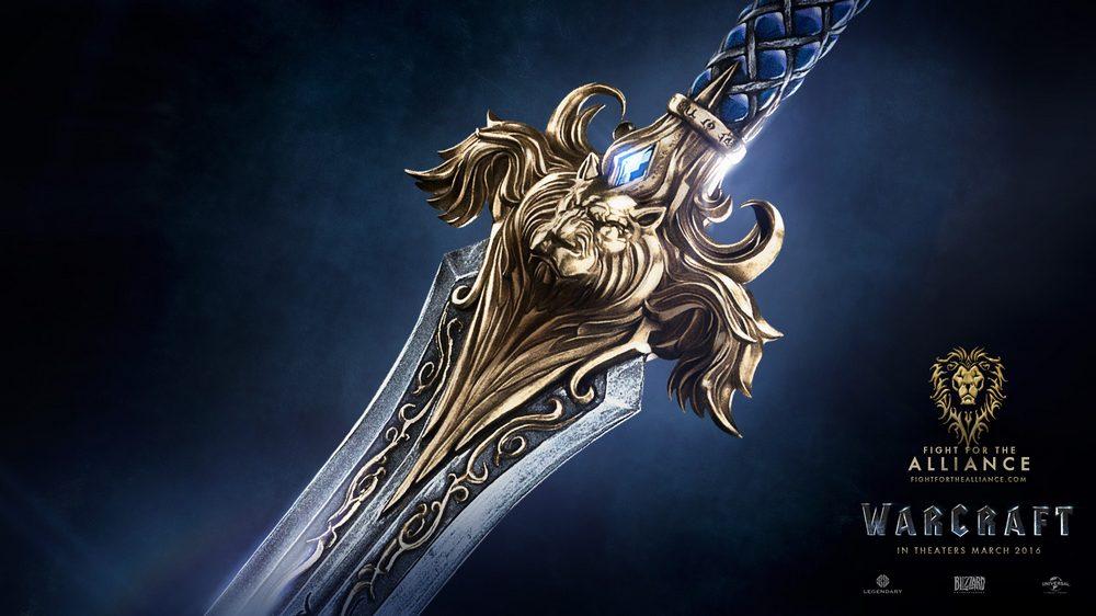 Alliance Sword - Warcraft Poster 2