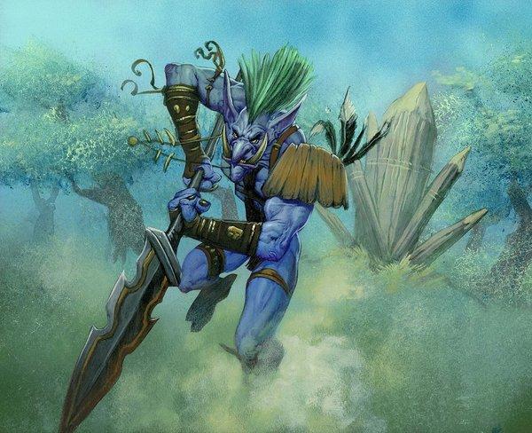 Тролль Warcraft